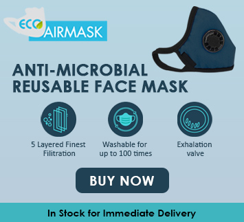Anti-Microbial Reusable Face Mask